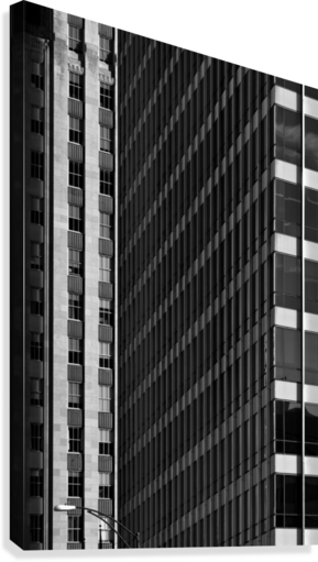 City Windows  Canvas Print