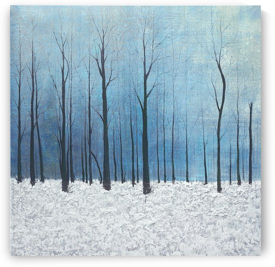 winter scenery by Yurovich Gallery