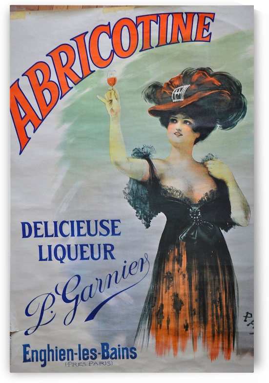 Abricotine by VINTAGE POSTER