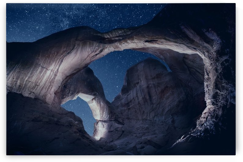 Arches National Park night 1 by Christopher Dormoy