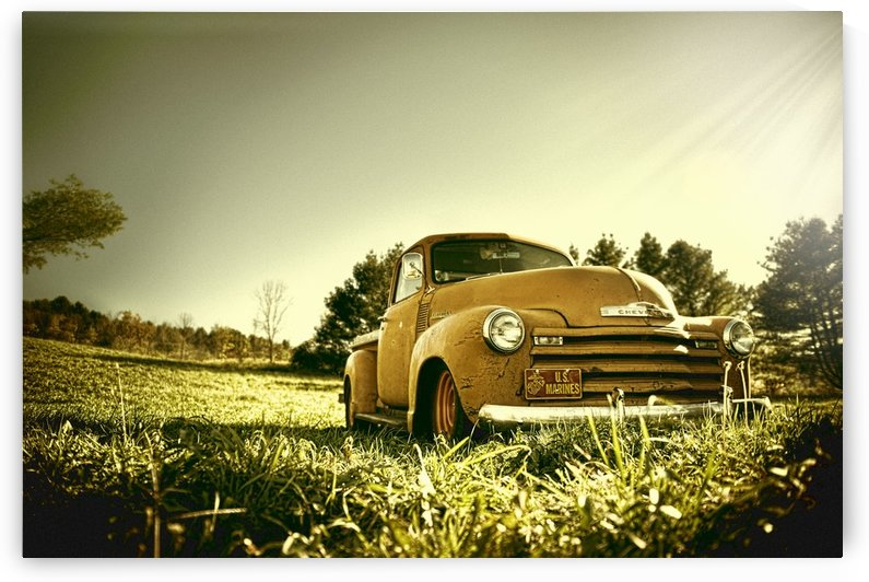 Old Car by Christopher Dormoy