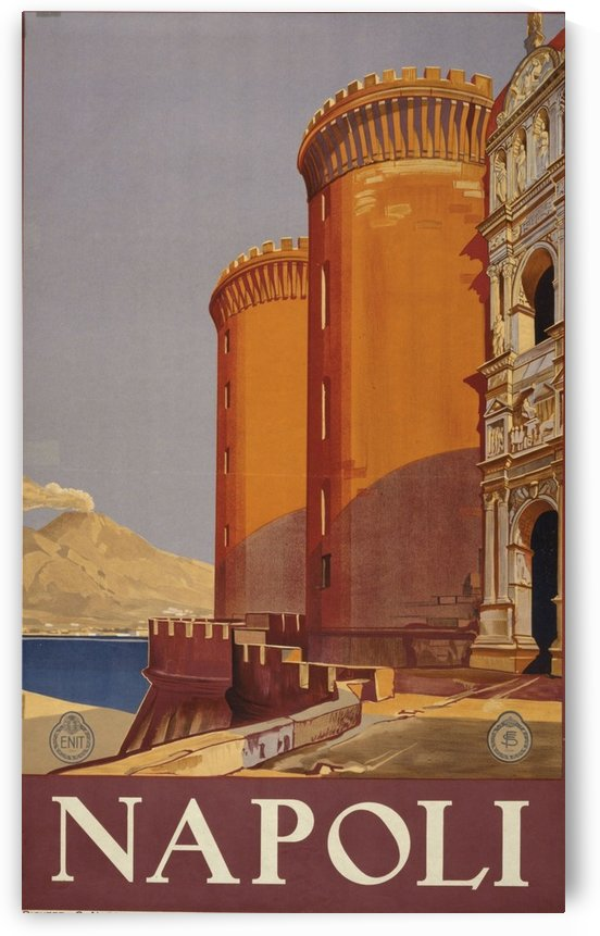 Napoli by VINTAGE POSTER