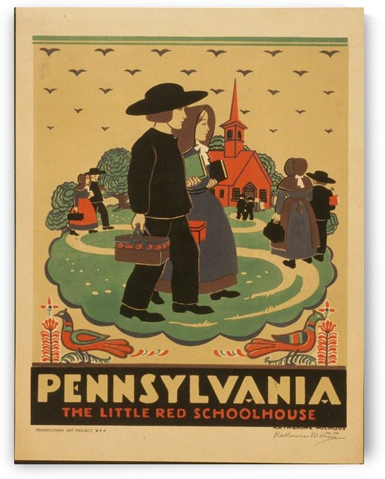 Pennsylania by VINTAGE POSTER
