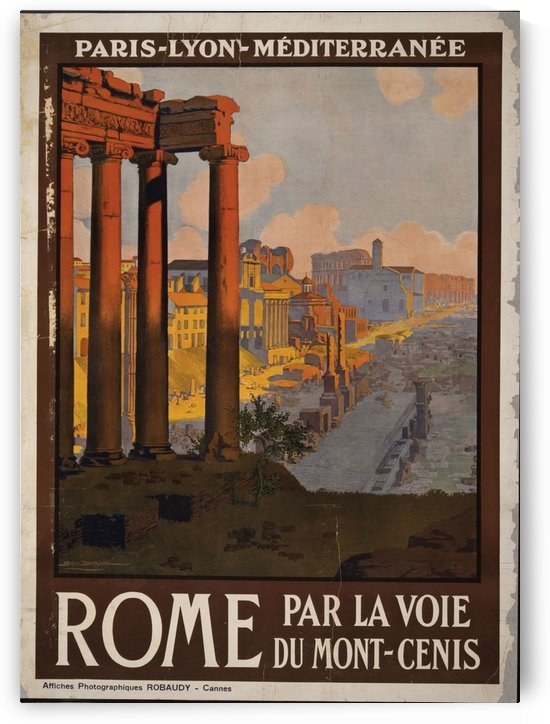 Rome by VINTAGE POSTER