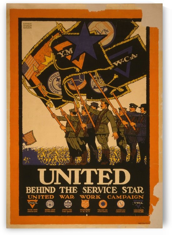United by VINTAGE POSTER