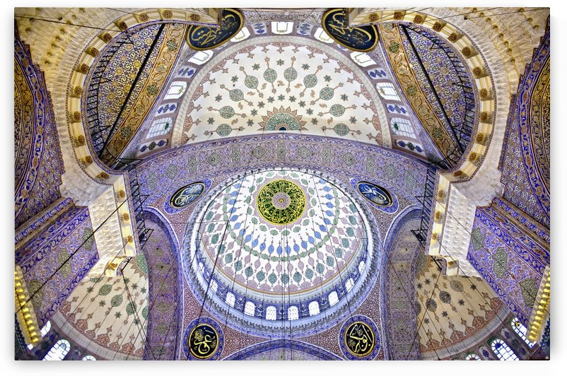 The Blue Mosque by 1x