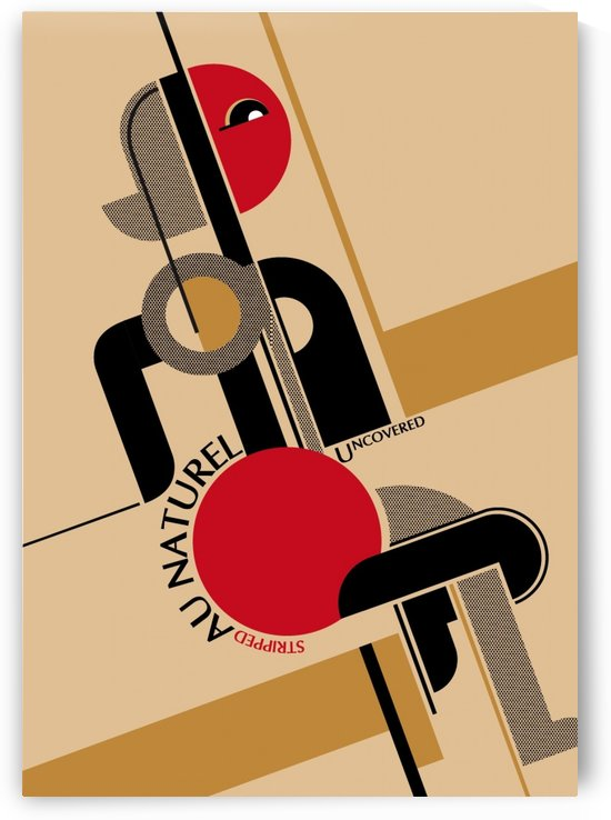 Bauhaus Nude by VINTAGE POSTER