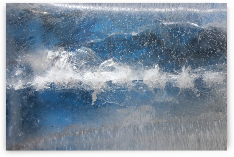 Ice Abstract Icy Frost Frosty Freeze by StockPhotography