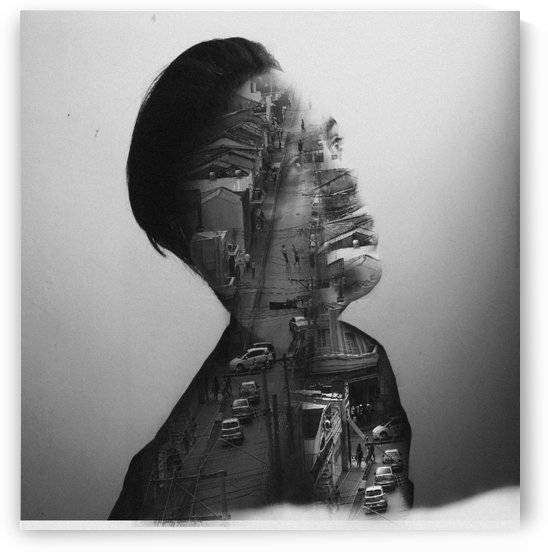 Double Exposure Serie by Heitor Magno