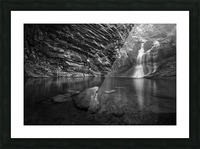 Lower Cascades 2 Picture Frame print