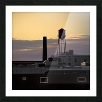 City Rooftops C Picture Frame print