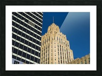City Towers Picture Frame print