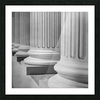 House Of Justice Picture Frame print