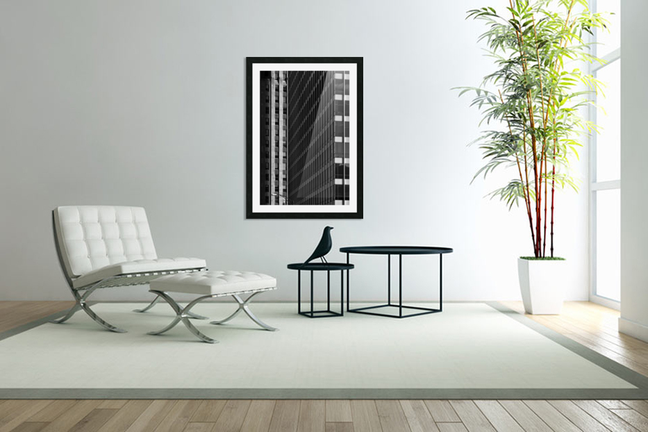 City Windows in Custom Picture Frame