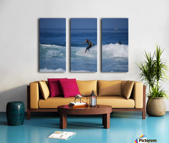 Dana Point surfers  Split Canvas print