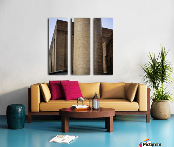 Bricks of Bailey Split Canvas print