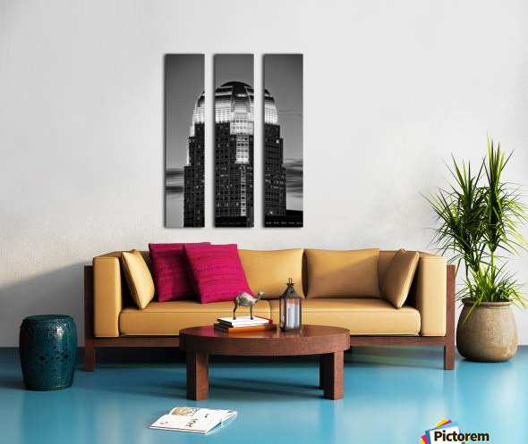 100 North Main Split Canvas print