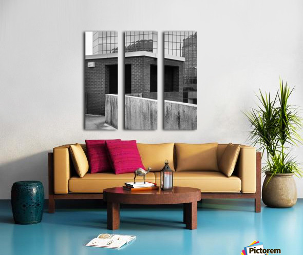 Winston Salem 98 Split Canvas print
