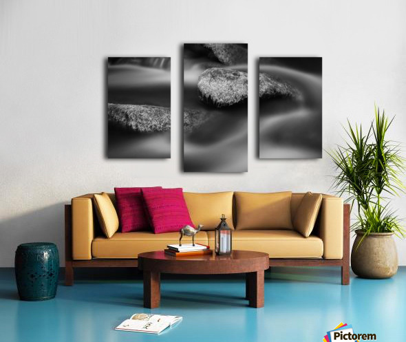Over and Around Canvas print