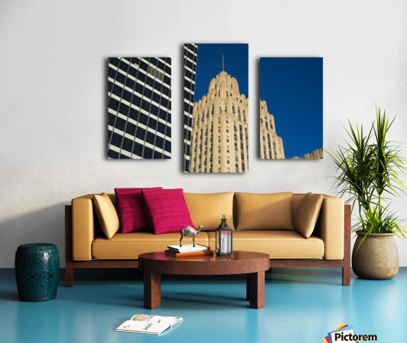 City Towers Canvas print