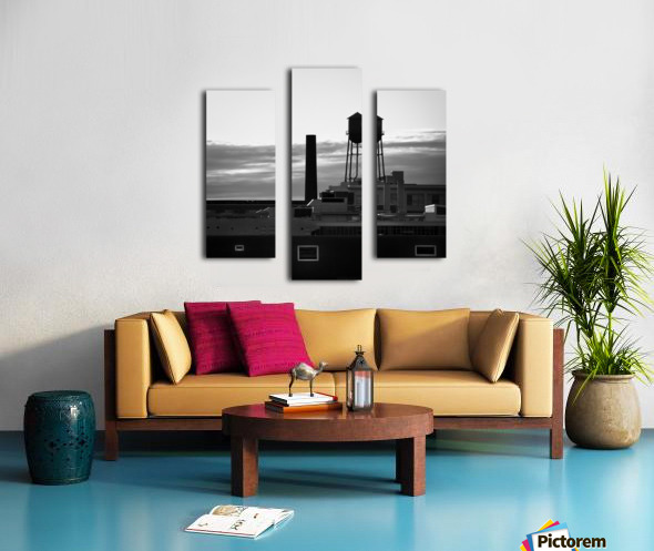 City Rooftops Canvas print