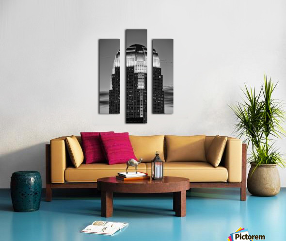 100 North Main Canvas print